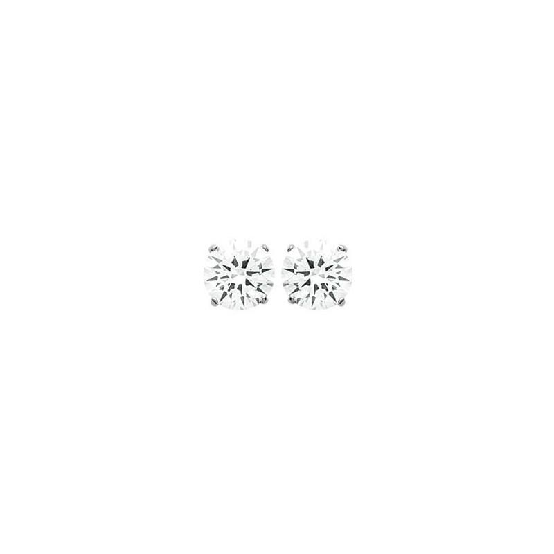 Boucles d'oreilles oxyde argent - 3 mm - La Petite Française