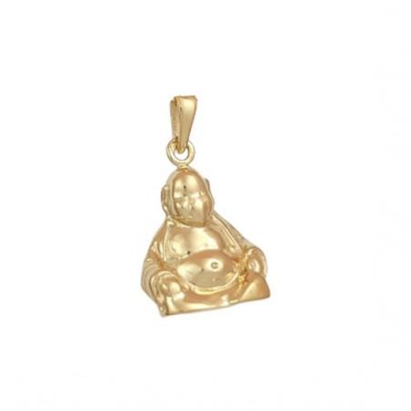 Pendentif Bouddha Or18 carats jaune - La Petite Française