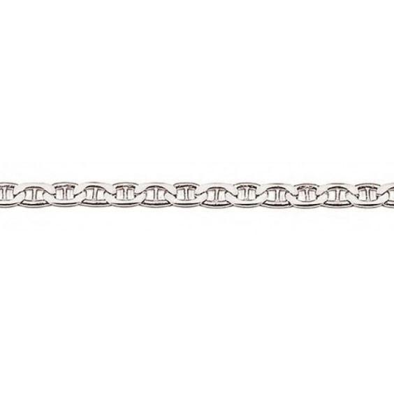 Chaîne maille marine argent 4 mm - 50 cm  - La Petite Française
