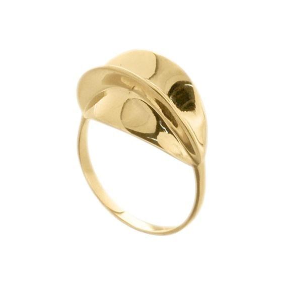 Bague carambole plaqué or - La Petite Française