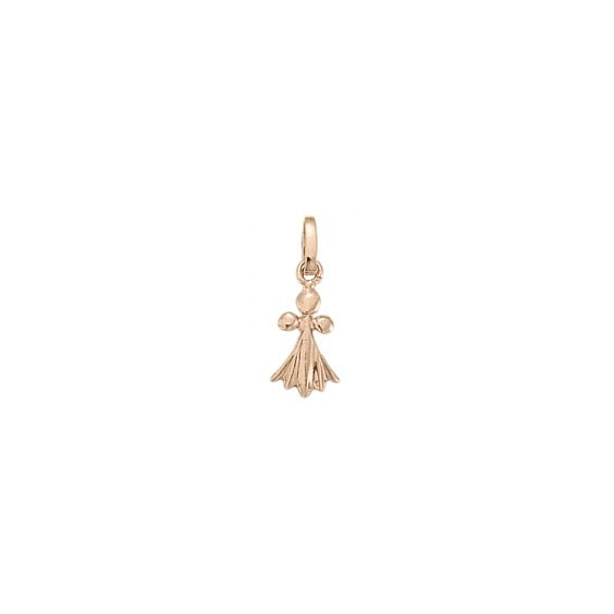 Pendentif hermine Or 18 carats rose - 19 MM - La Petite Française
