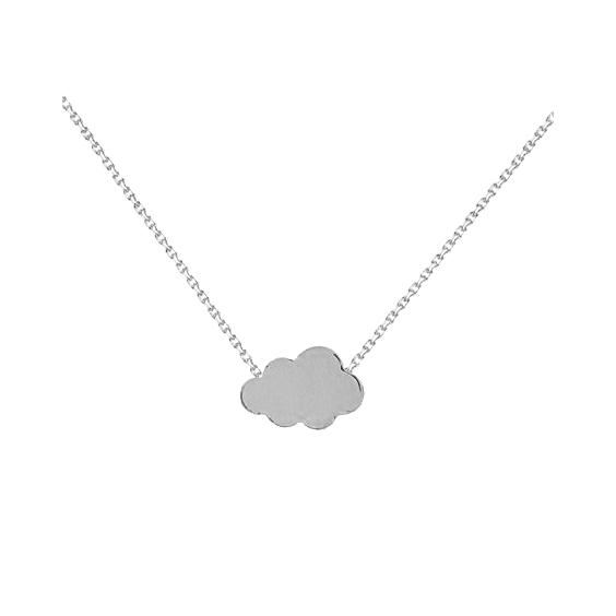 Collier nuage argent - La Petite Française
