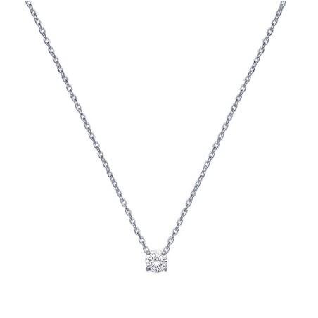 Collier argent et zirconium - La Petite Française