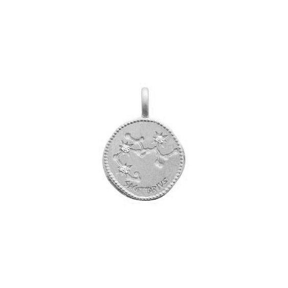 Pendentif constellation sagittaire argent et zirconiums - La Petite Française