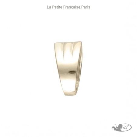 Chevalière Adrian plaqué or - La Petite Française