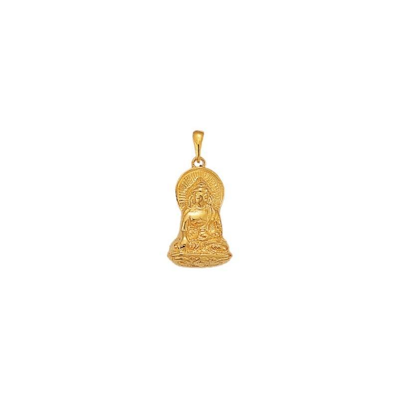 Pendentif Bouddha Or 18 carats jaune - La Petite Française