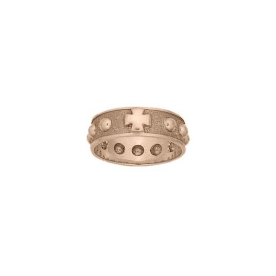 Anneau dizainier Or 18 carats rose - 7 MM - La Petite Française