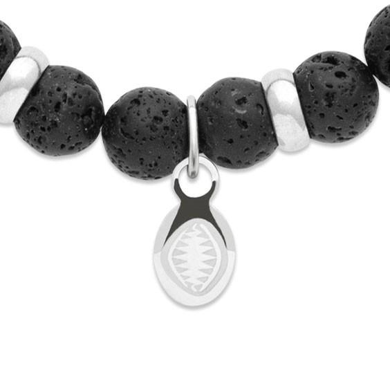 Bracelet perles pierre de lave -  La Petite Française