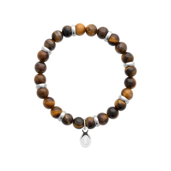 Bracelet perles Oeil de tigre -  La Petite Française