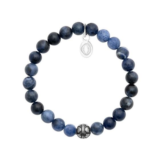 Bracelet perles pierre Sodalite -  La Petite Française