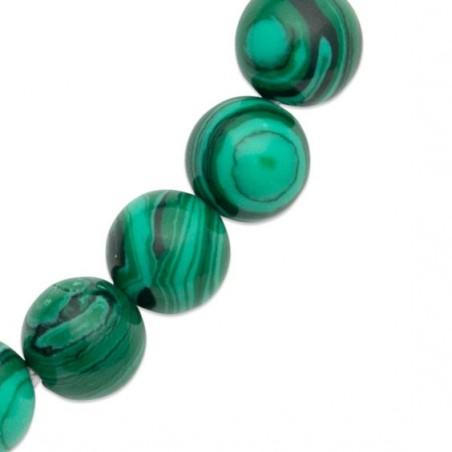 Bracelet perles pierre Malachite -  La Petite Française