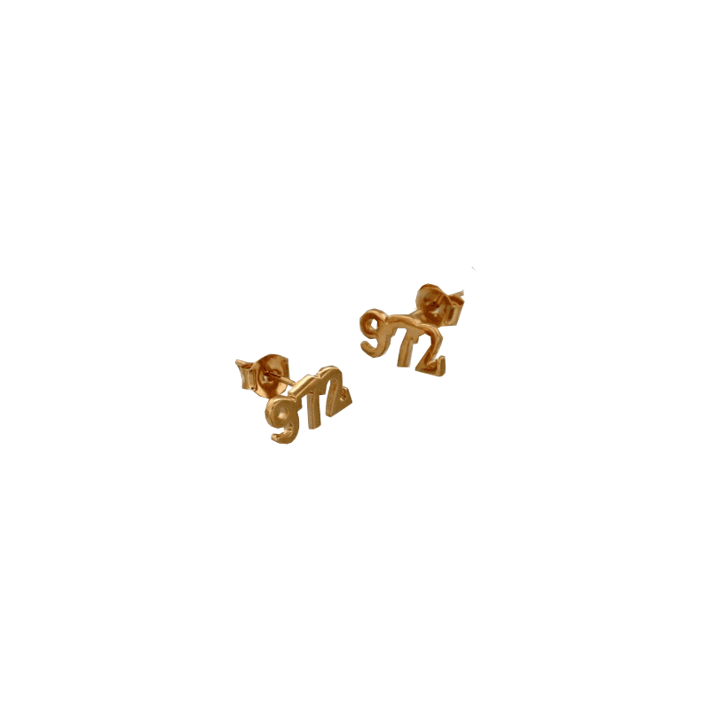 Boucles d'oreilles 972 plaqué or
