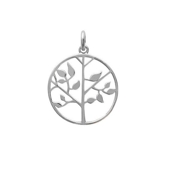 Pendentif arbre de vie argent - La Petite Française