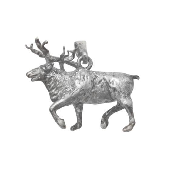 Pendentif renne argent - 22 MM -  la Petite Française