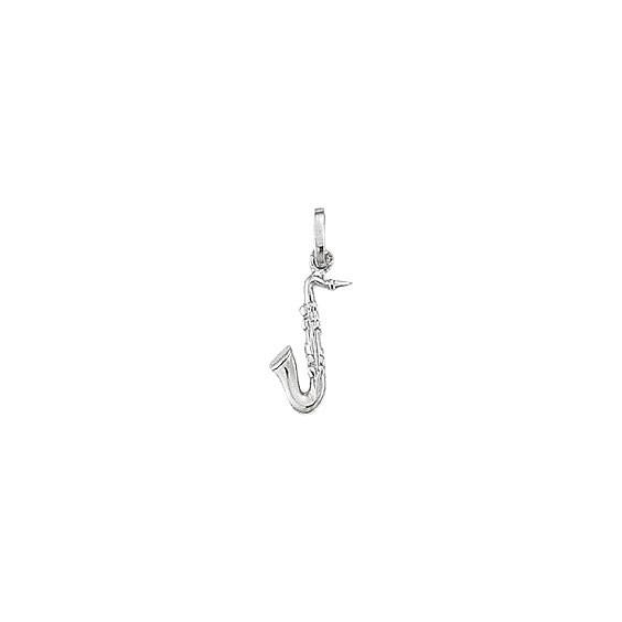 Pendentif saxophone argent -  la Petite Française