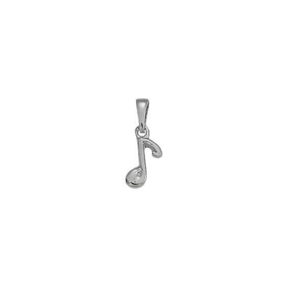 Pendentif note de musique argent -  la Petite Française