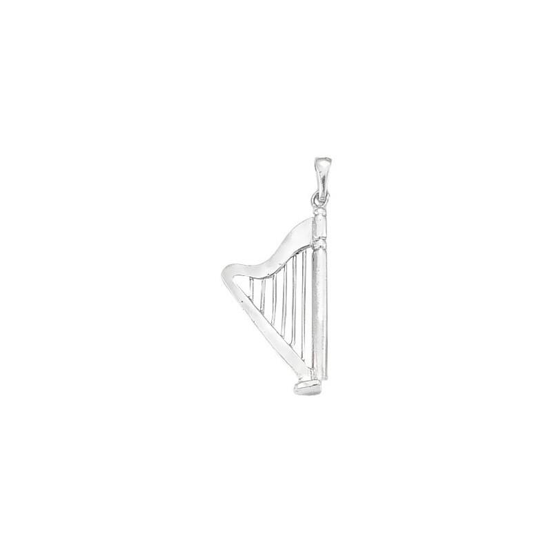 Pendentif harpe argent GM -  la Petite Française
