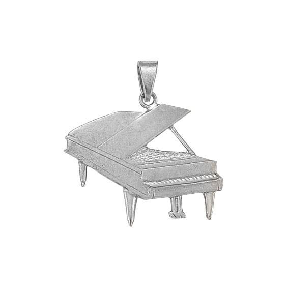 Pendentif piano argent - 38 MM -  la Petite Française