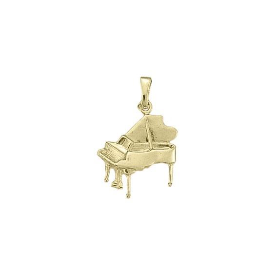 Pendentif piano Or 18 carats jaune - 28 MM -  la Petite Française