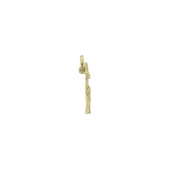 Pendentif clarinette Or 18 carats jaune - 19 MM -  la Petite Française