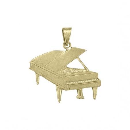Pendentif piano Or 18 carats jaune - 38 MM -  la Petite Française