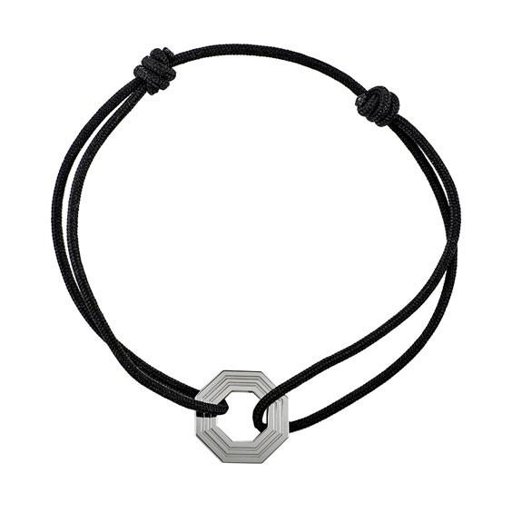 Bracelet cordon boulon Or 9 carats - La Petite Française