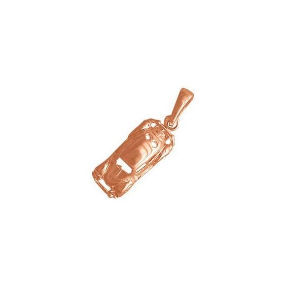 Pendentif voiture coccinelle Or 18 carats rose - La Petite Française