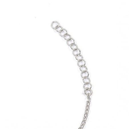 Bracelet camée corail dentelle argent - La Petite Française