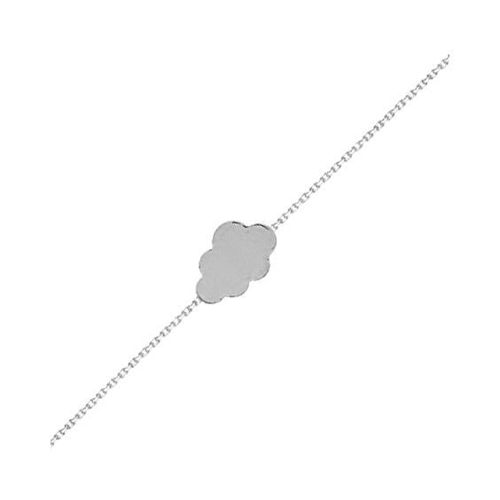 Bracelet nuage argent -  Bijouterie La Petite Française