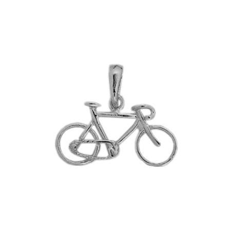 Pendentif vélo argent petit modèle  - La Petite Française